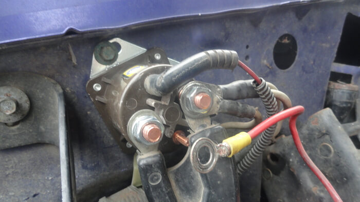 What is a Starter Solenoid and How to Jump it - Ground Report