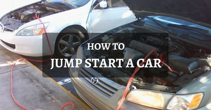dead or weak battery here is the right way to jump start a car. Black Bedroom Furniture Sets. Home Design Ideas